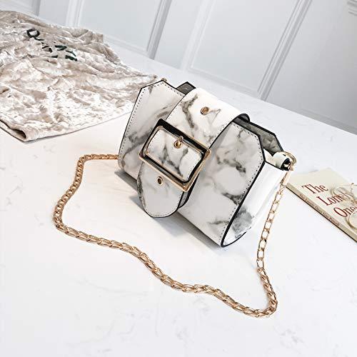 chaîne Mode la Fille coréenne bandoulière de Sauvage Petite Messenger Blanc marée Sac Femme WSLMHH à Petit Sac Version de Sac d'été 8qF64aAzw