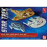 1 2500 Star Trek Cadet Deep Space 9 - 3 Ship Set