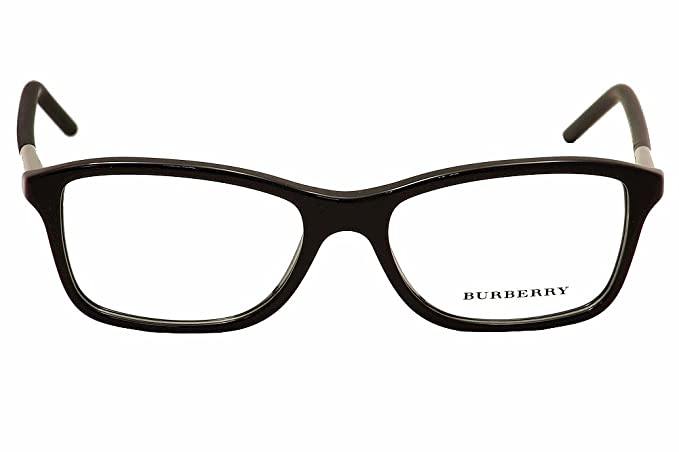 1c1a32b1c17a6f Burberry eyeglasses BE 2174 3001 Acetate plastic Black - Silver   Amazon.co.uk  Clothing