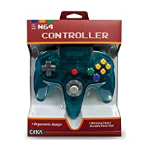 CirKa N64 Controller: Turquoise for Nintendo 64