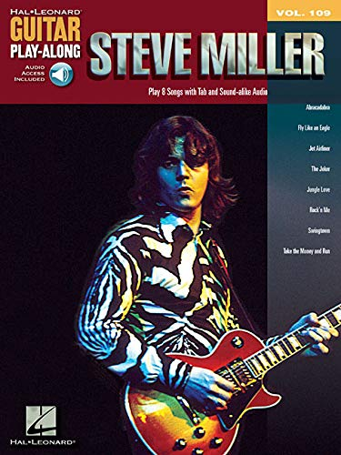 Steve Miller: Guitar Play-Along Volume 109 (Play Band Along Songbook)