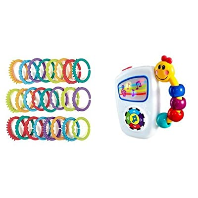 Bright Starts Lots of Links Accessory and Baby Einstein Take Along Tunes Musical Toy : Baby