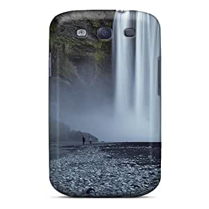 ULbZtEG-10524 LuckyBecky Awesome Case Cover Compatible With Galaxy S3 - Beautiful Natural Waterfall