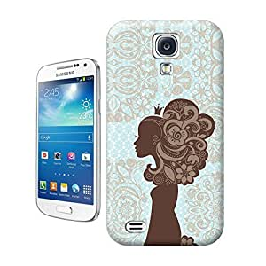 LarryToliver You deserve to have Classic blue background creative woman For samsung galaxy s4 Cases