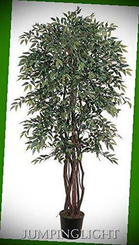 (JumpingLight 5020 6' Smilax Silk Tree Artificial Flowers Wedding Party Centerpieces Arrangements Bouquets Supplies)