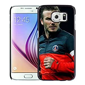 New Pupular And Unique Designed Case For Samsung Galaxy S6 With David Beckham Black Phone Case