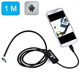 BlueFire 7mm Android Endoscope IP67 Waterproof USB Inspection Snake Tube Camera 1.0M