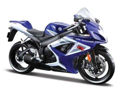 Maisto Suzuki GSX R750 Originalgetreues Motorradmodell Im Massstab 112mit Federung Und
