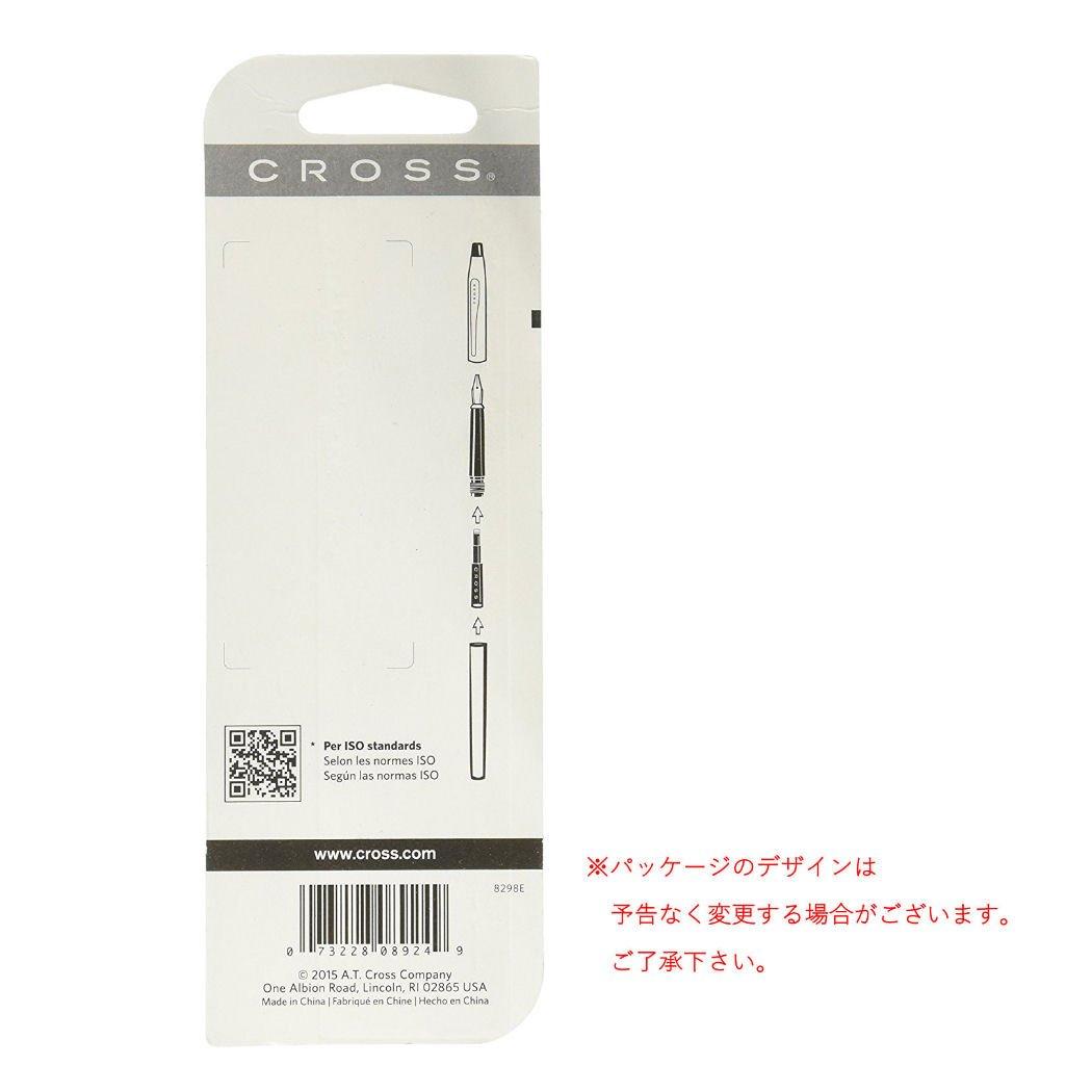 Cross 858594 Cartucce dinchiostro per piuma blu-nero confezione da 6 pezzi