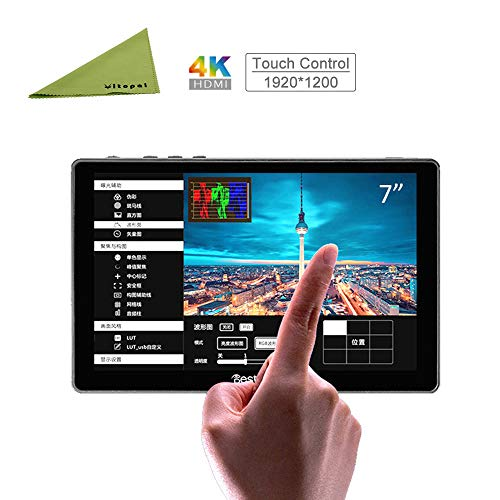 Bestview R7 7 inch Full Touch Screen 4K HDMI 1920×1200 Pixels On-Camera Video Monitor for Video Cameras