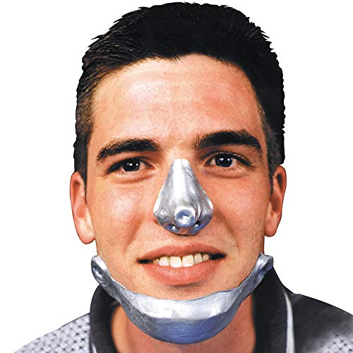 Fun Express - Tin Man Chin for Halloween - Apparel Accessories - Costume Accessories - Costume Make Up - Halloween - 1 Piece -
