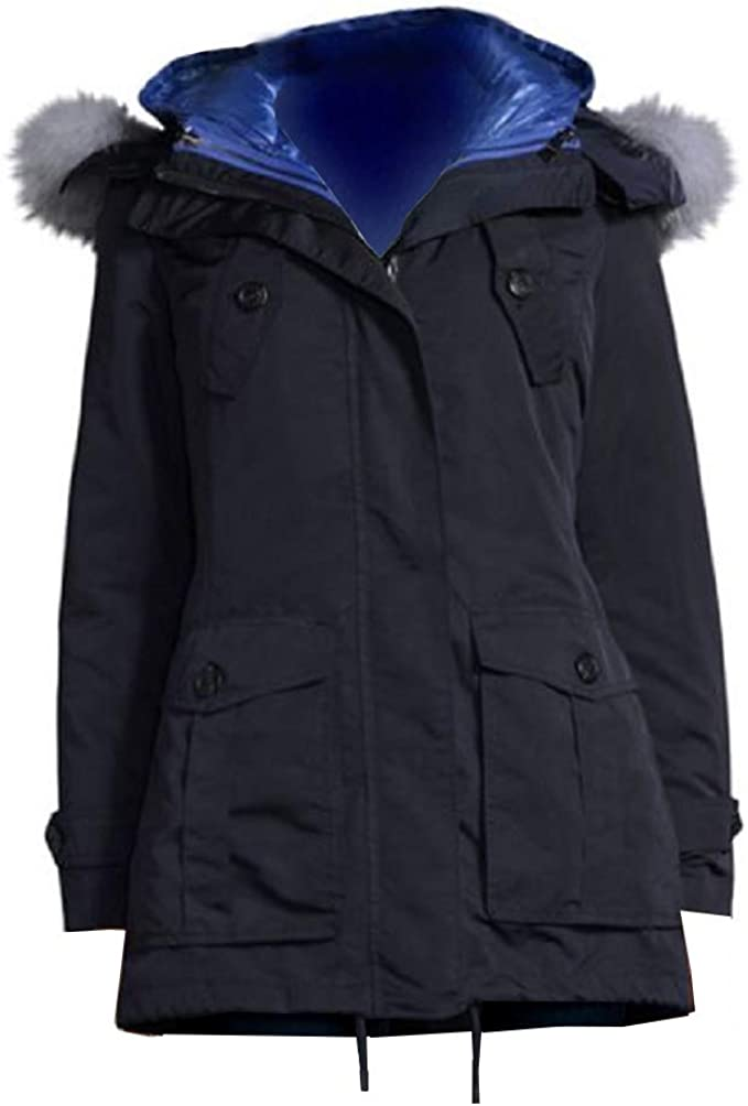 Blue Fur Parka