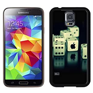 Dices And Apple Dices Hard Plastic Samsung Galaxy S5 I9600 Protective Phone Case