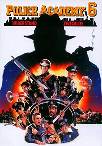 Police Academy 6 City Under Siege Movie Poster