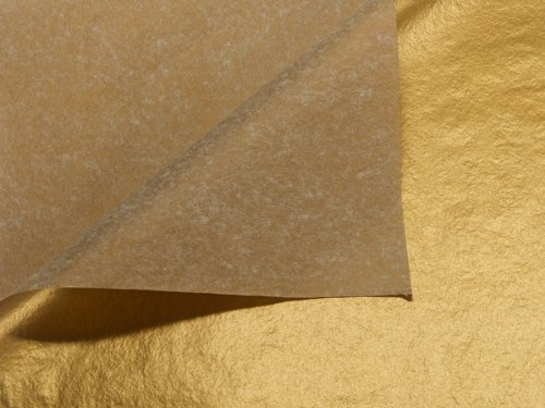 Metallic Gold Tissue Paper 200~20''x30'' Sheets 1-sided (200 Sheets) - WRAPS-P75 by Miller Supply Inc