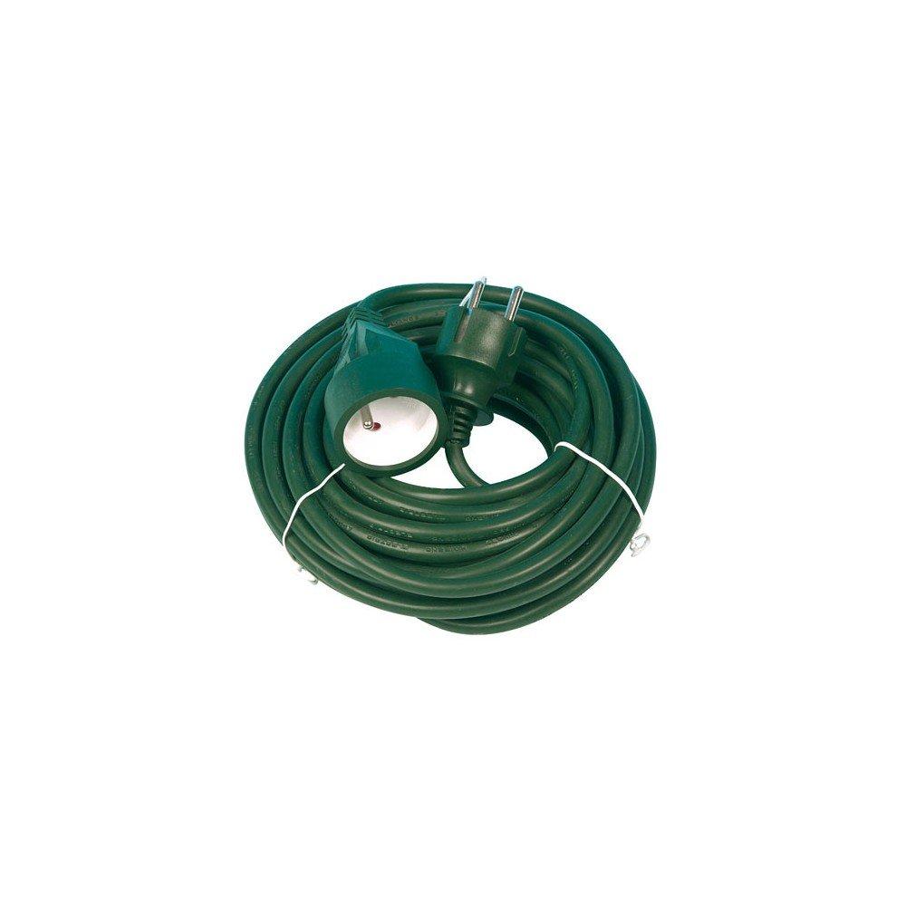 Profile 502401120 Rallonge 3G1,5 PVC 10 m Vert