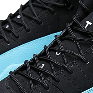 b7690a564d43d7 Mens Air Jordan 12 Retro Gamma Blue Leather Basketball Shoes
