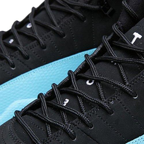 Zapatillas De Baloncesto Nike Hombres Air Jordan 12 Retro Gamma Blue Leather