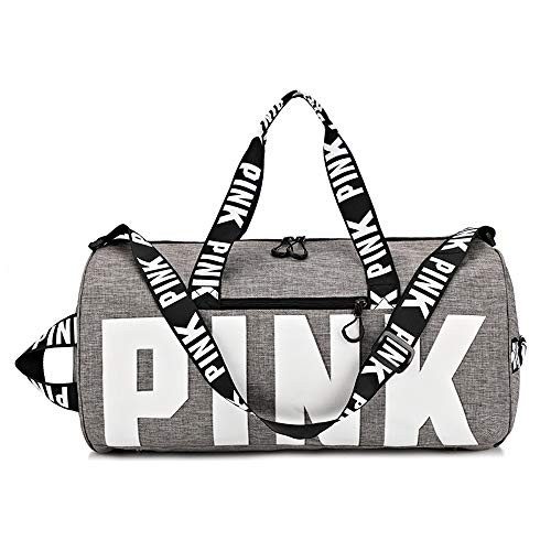 Ativafit Duffle Bag Gym Exercise Sport Tote Bag Overnight Travel Weekend Bag Women -