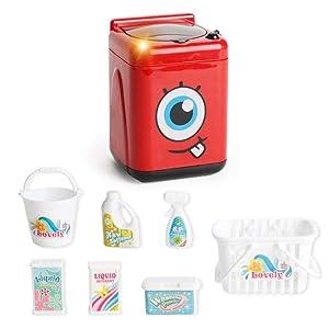 HMANE Kitchen Household Pretend Play Toys Kit Simulation Appliances Educational Toys for Kids Toddlers - (Washing Machine)