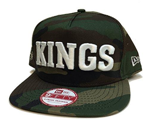New Era Flip Up Team Woodland Los Angeles Kings (Los Angeles Kings Burger King Jersey For Sale)