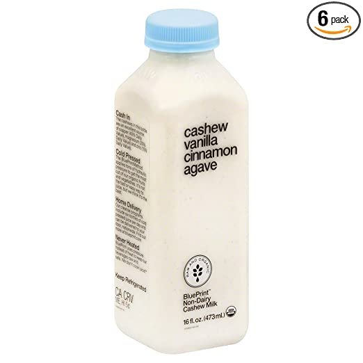Amazon blueprint juice cashew vanilla cinnamon agave 16 amazon blueprint juice cashew vanilla cinnamon agave 16 ounce pack of 6 grocery gourmet food malvernweather Images