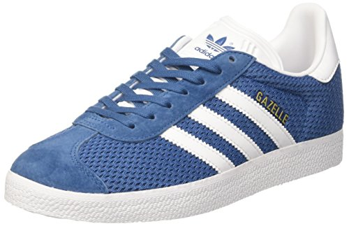adidas Gazelle Unisex Trainers Blue White ebay for sale cheap 2014 newest P5PJeMHAlY