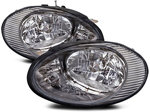 Ford Taurus Headlights OE Style Replacment Headlamps Driver/Passenger Pair (Ford Taurus Headlight Assembly)