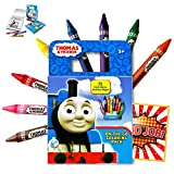 Thomas the Train 72 Page Activity Coloring Book With a 8 Colorful Extra Large Jumbo Crayons Also Included Is 1 Large Reward Sticker