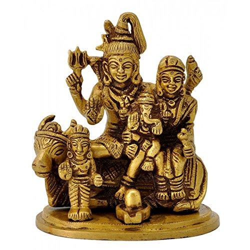 ガンジスインディアLord Shiva and Family B01AWULDM6