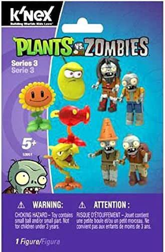 40 FIGURES SET PLANTS vs ZOMBIES SET 40 FIGURAS MEGA SET