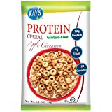 Kay's Naturals Protein Cereal, Apple Cinnamon, 1.2 ounces (Pack of 6)