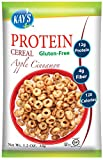 Kay's Naturals Protein Cereal, Apple Cinnamon, Gluten-Free, Low Carbs, Low Fat, All Natural Flavorings, 1.2 Ounce (Pack of 6) Review