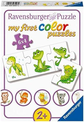 Ravensburger Kinderpuzzle 03006 - Meine liebsten Tierkinder