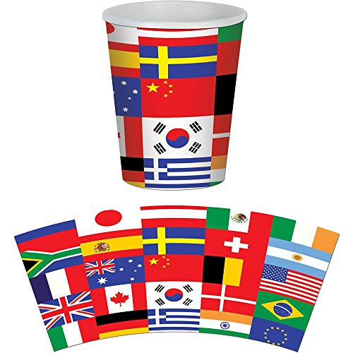 International Party Supplies 9Oz Hot/Cold Cups (8 Pack)