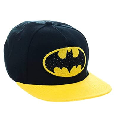 7d74496d Image Unavailable. Image not available for. Color: DC Comics Batman  Snapback Hat with Illuminating Logo
