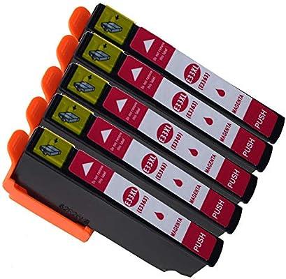 Cartuchos de Tinta Epson 33XL 33 Compatibles con Impresoras Epson ...