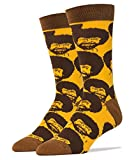 Oooh Yeah Men's Luxury Combed Cotton Crew Socks Funny