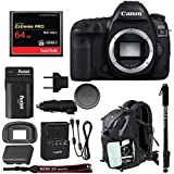 Canon EOS 5D Mark IV DSLR Camera (Body Only) w/64GB Compact Flash Card Bundle