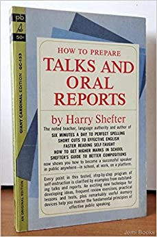 Book How to Prepare Talks and Oral Reports