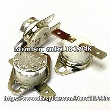 KSD301 - Termostato de cerámica y protector térmico (250 V, 10 A ...