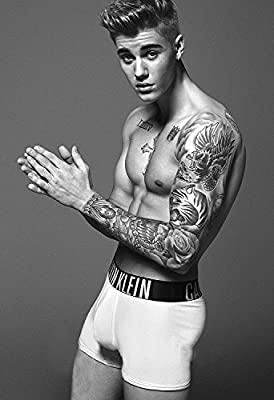Justin Bieber Singer Songwriter 12 x 18 Inch Poster Print Rolled Wall Decor By A-ONE POSTERS