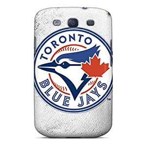 Great Hard Phone Cover For Samsung Galaxy S3 (JxG1358eoOI) Customized Nice Toronto Blue Jays Image
