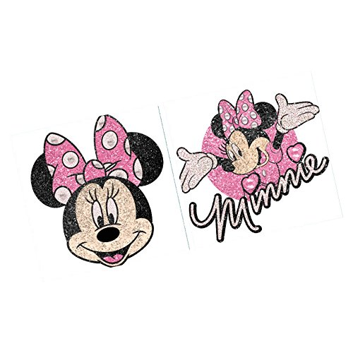 Disney Minnie Mouse Body Jewelry Birthday Party Accessory Favour and Prize Giveaway (1 Piece), Multi Color, (Minnie Mouse Birthday Game Ideas)