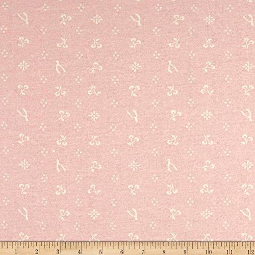 Birch Organic Merryweather Merrythought Interlock Knit Blush Fabric By The Yard