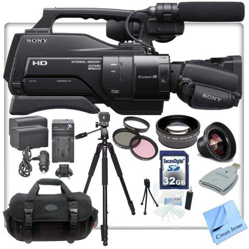 Sony HXR-MC2500U / MC2500 Shoulder Mount AVCHD Camcorder With CS Pro Kit: Includes 72 by Sony