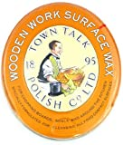 Wooden Work Surface Wax / Orange Wax, 5 oz. by Town Talk- Clean and Protect Wooden Chopping Boards, Bowls, Utensils, etc.