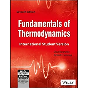 Fundamentals of Thermodynamics 7th Edition