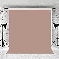 Kate 5x7ft Light Brown Photography Backdrop Pure Solid Color Background Cotton Collapsible Backdrops for Studio Props