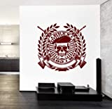 Athena Bacon Wall Vinyl Army Soldier Honor Duty Guaranteed Quality Decal